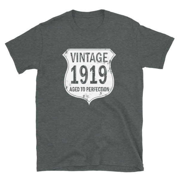 1919 Aged to Perfection Men's/Unisex T-Shirt