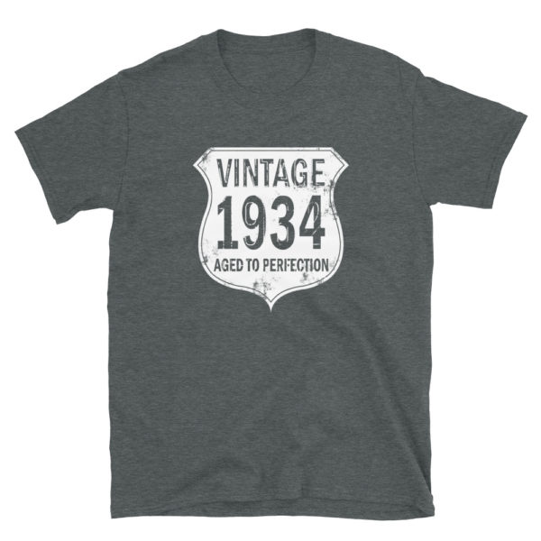 1934 Aged to Perfection Men's/Unisex T-Shirt