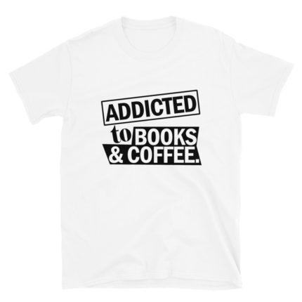 Book & Coffee Lover Men's/Unisex T-Shirt