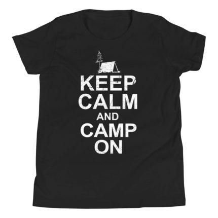 Camping Kid's/Youth Premium T-Shirt