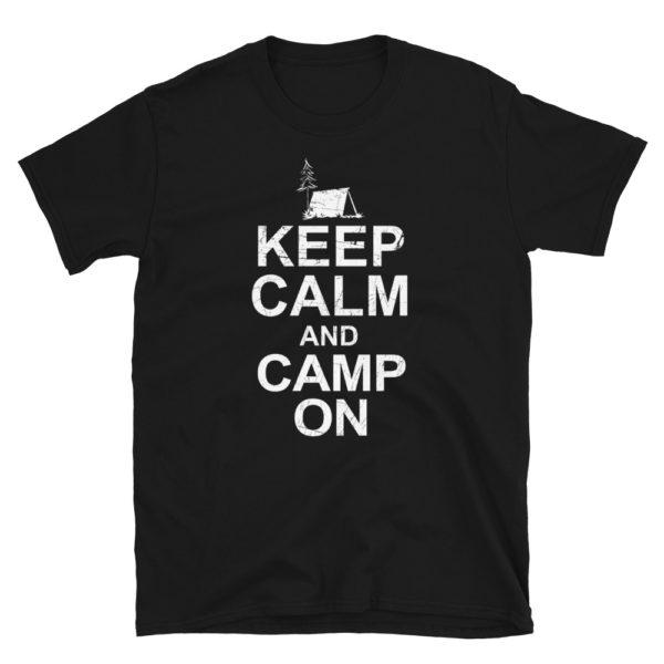 Camping Men's/Unisex Soft T-Shirt