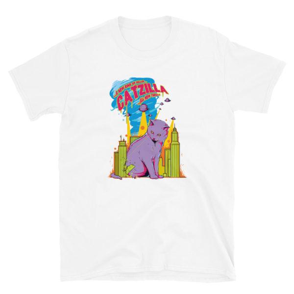 Catzilla Funny Cat Men's/Unisex T-shirt