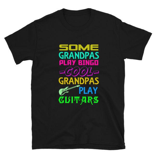Cool Grandpa's Play Guitar T-Shirt