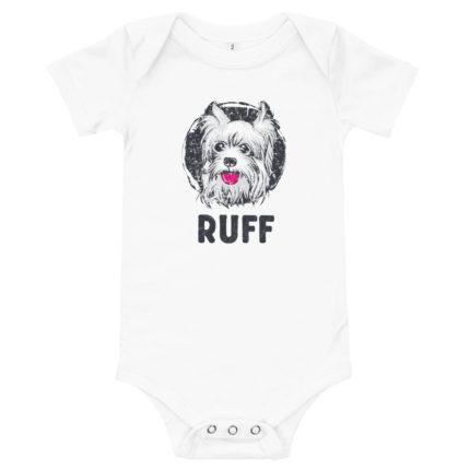 Cute Dog Baby's Premium Onesie