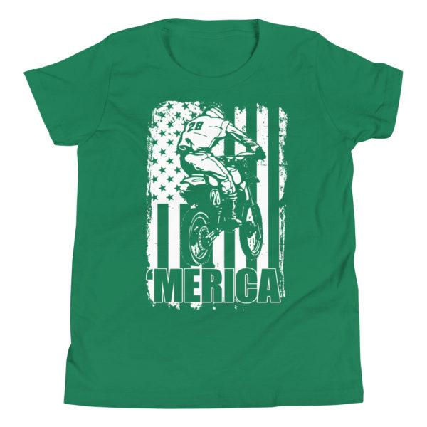 Dirt Bike Kid's/Youth Premium T-Shirt
