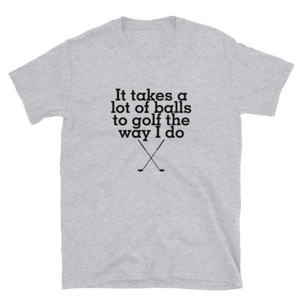 Funny Golf Men's Soft T-Shirt