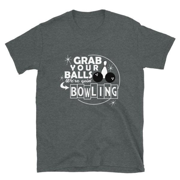 Funny Men's/Unisex Bowling T-Shirt