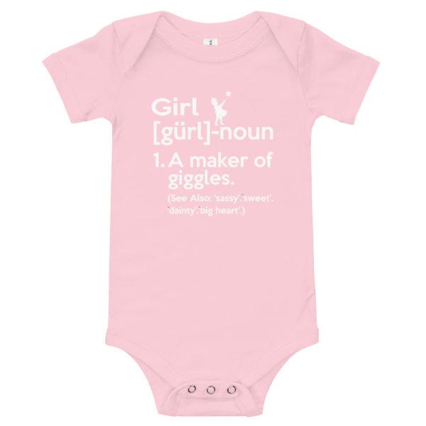 GIRL Baby's Premium Onesie