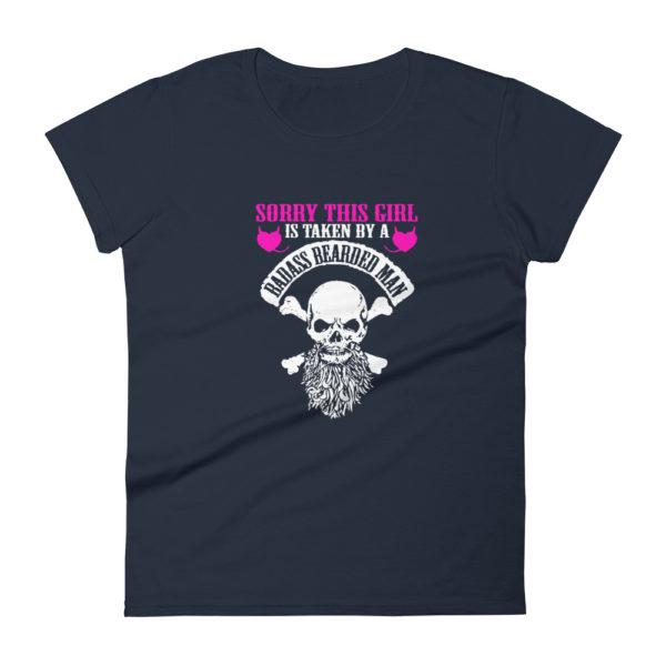 Girlfriend/Wife's Fashion Fit T-shirt (Beards)