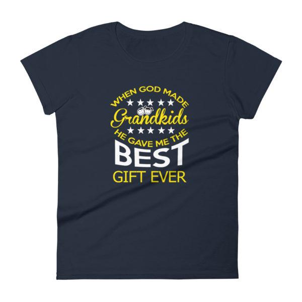 Grandma Loves her Grand-kids Premium T-shirt