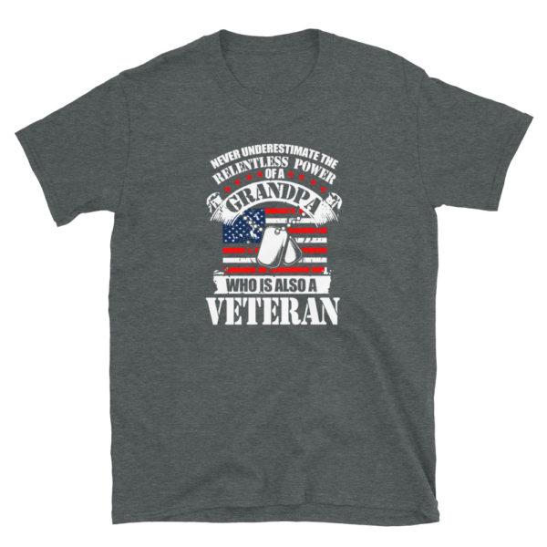 Grandpa Veteran Soft T-Shirt