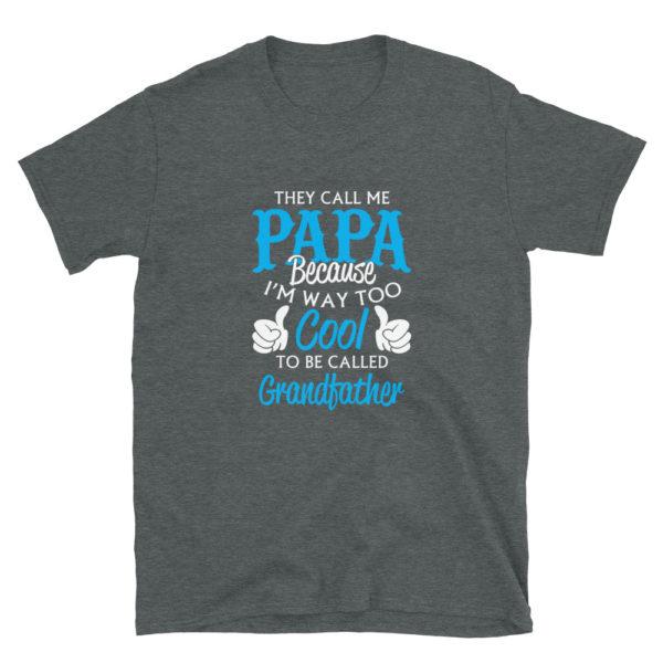 Grandpa/Grandfather's PAPA soft T-Shirt
