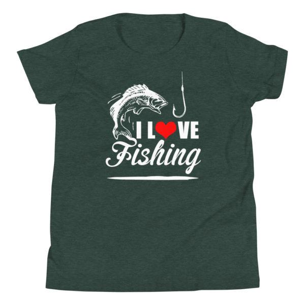 I love Fishing Kid's/Youth Premium T-Shirt