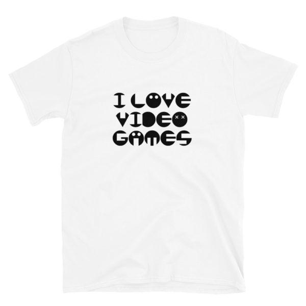 I Love Video Games Men's/Unisex T-Shirt