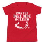 Join the Bike Ride Club Kid's/Youth Premium Tee