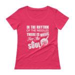 Knitting Woman's Premium Scoopneck T-Shirt