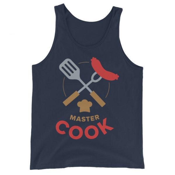 Master Cook Men's/Unisex BBQ Tank Top
