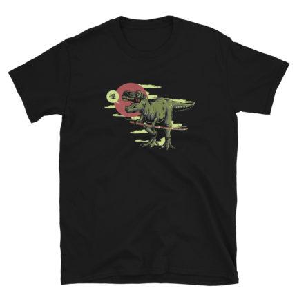 Samurai Dinosaur Men's/Unisex T-Shirt