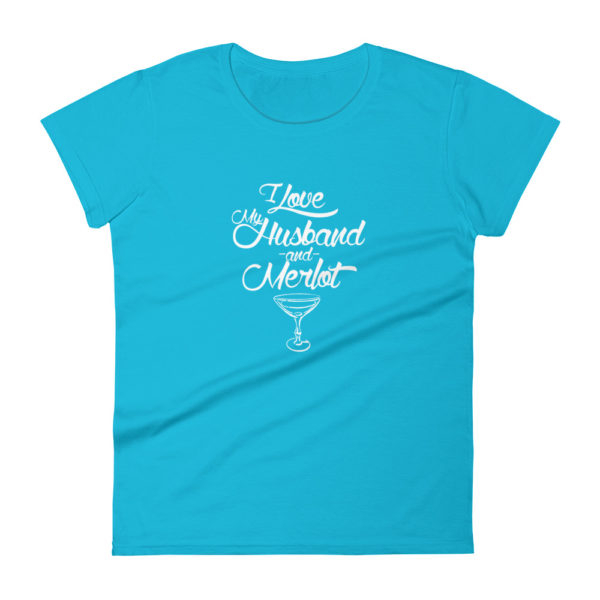 Wife's Premium T-shirt for Wine Lover