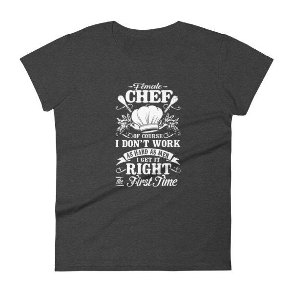 Women's Chef Premium Fashion Fit T-shirt