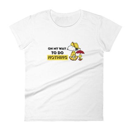 Snoopy Adult Women's Fashion Fit Premium T-shirt