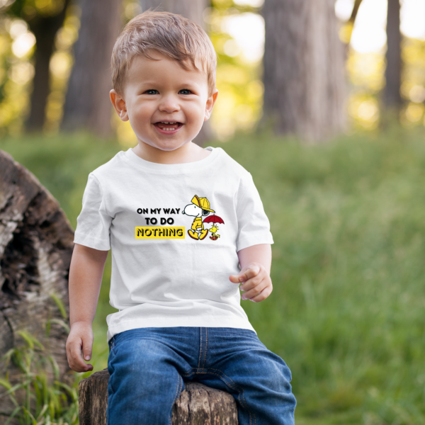 Snoopy T-shirt for Toddlers (Boy or Girl)